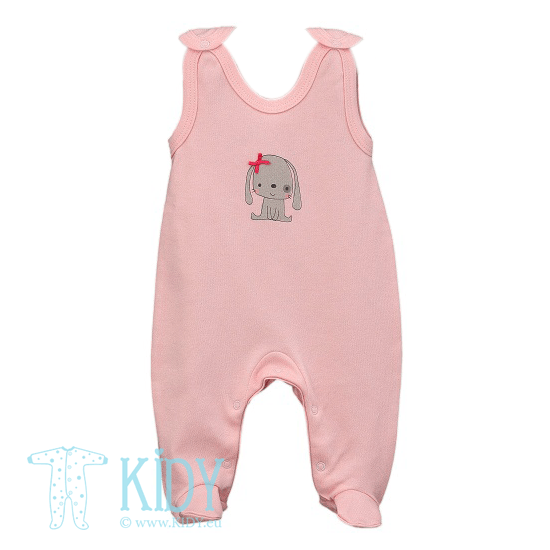 Pink LUCKY dungaree