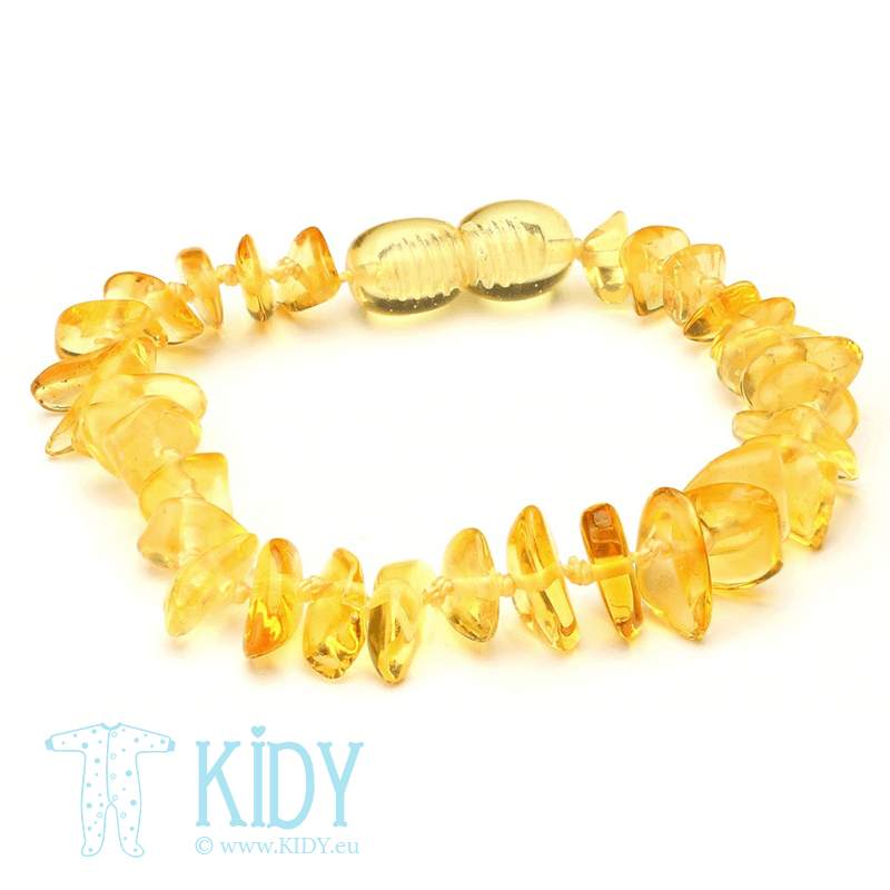 Amber bracelet LEMON (Baltic Amber)