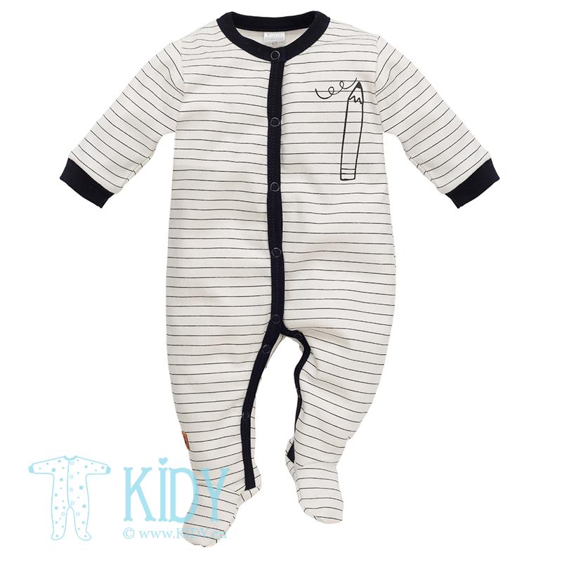 Kreminis kombinezonas-pižama XAVIER