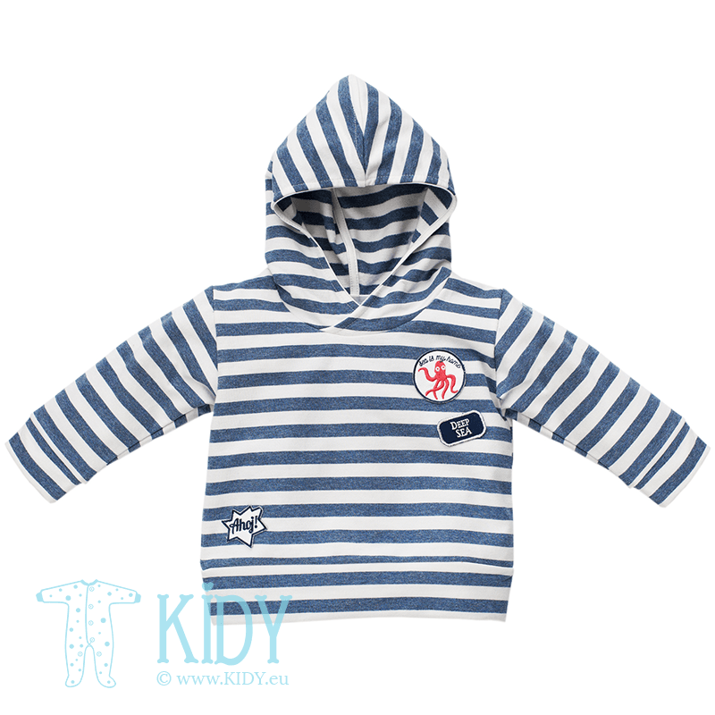 Blue SEA WORLD hoodie