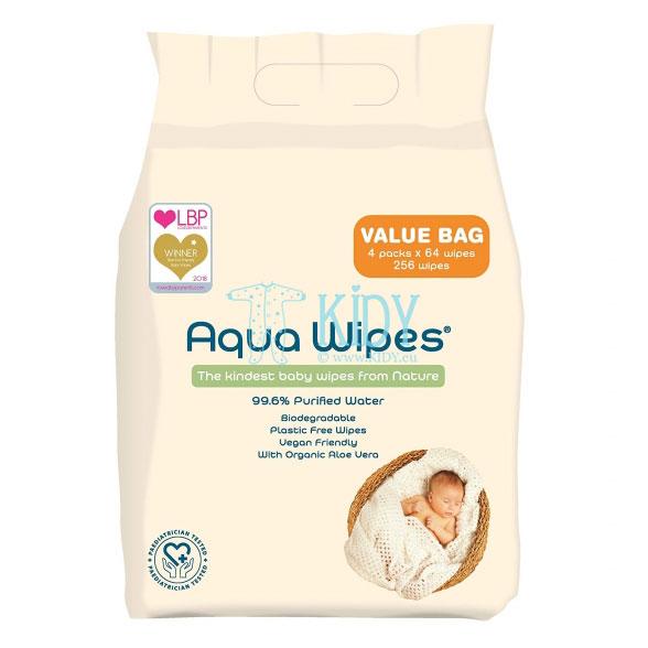 Детские влажные салфетки с Aloe Vera
