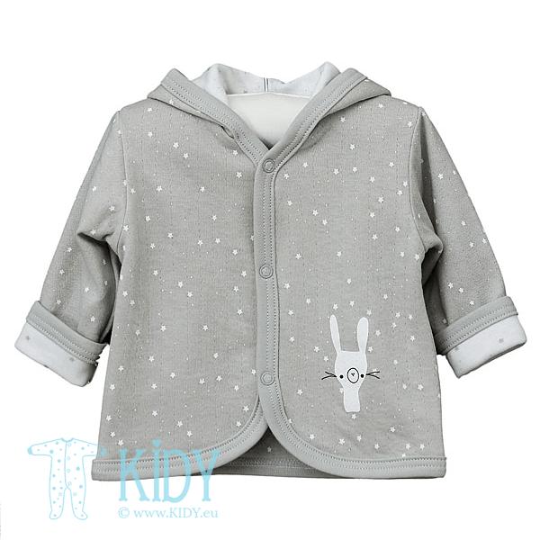 Grey FLUFFY hoodie