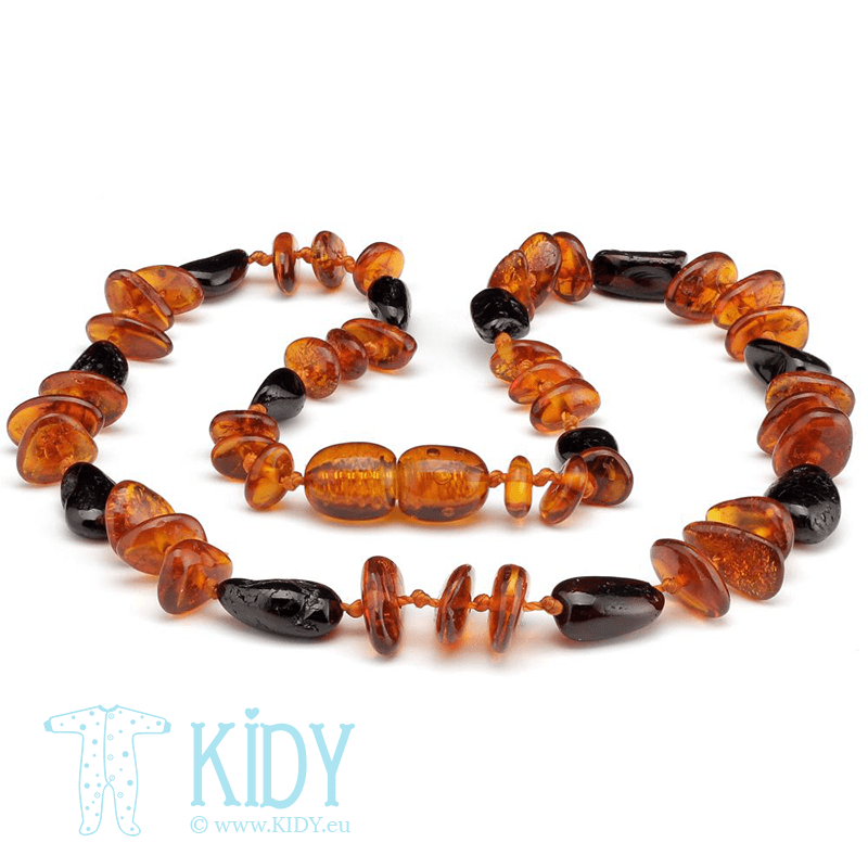 Amber MULTI beads
