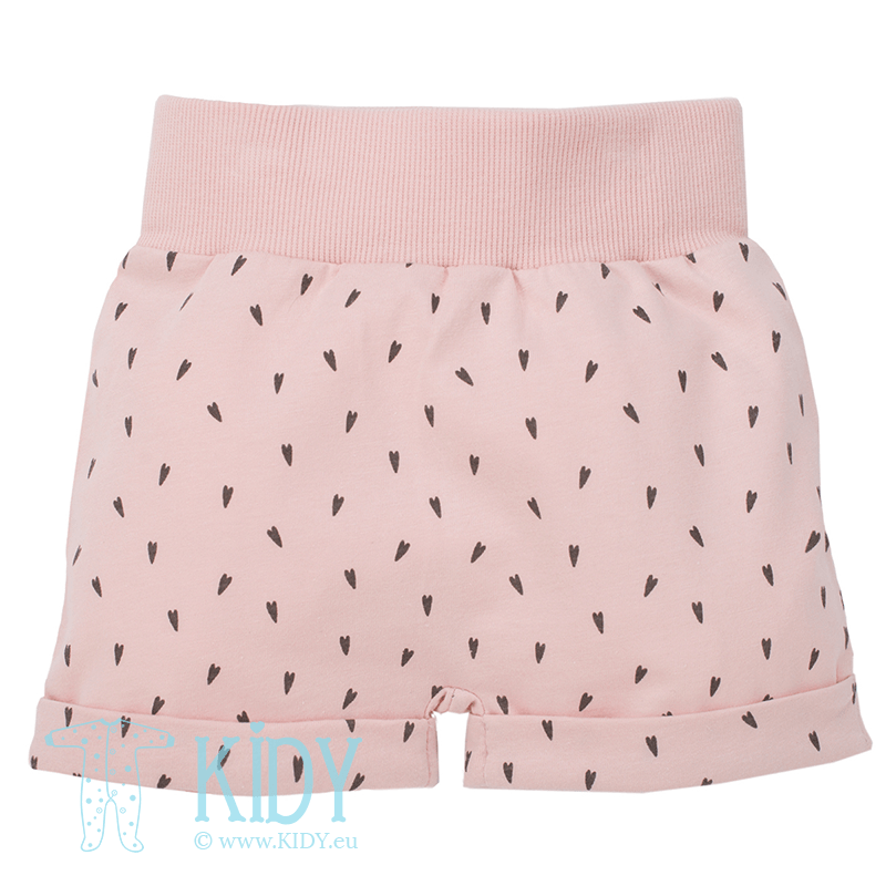 Pink LOVE SUMMER shorts