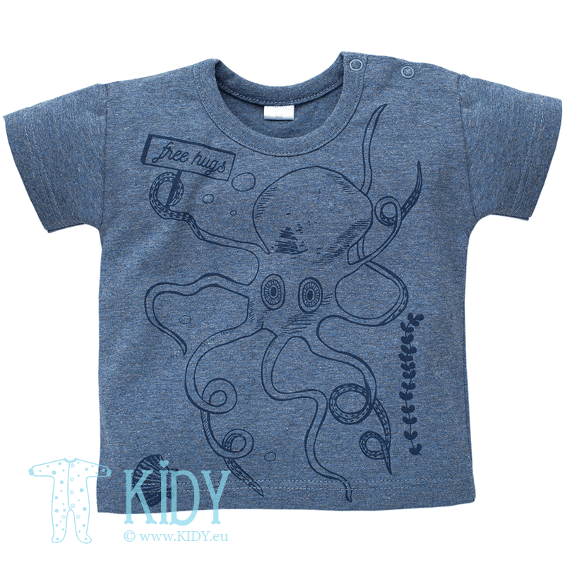 Navy SEA WORLD t-shirt