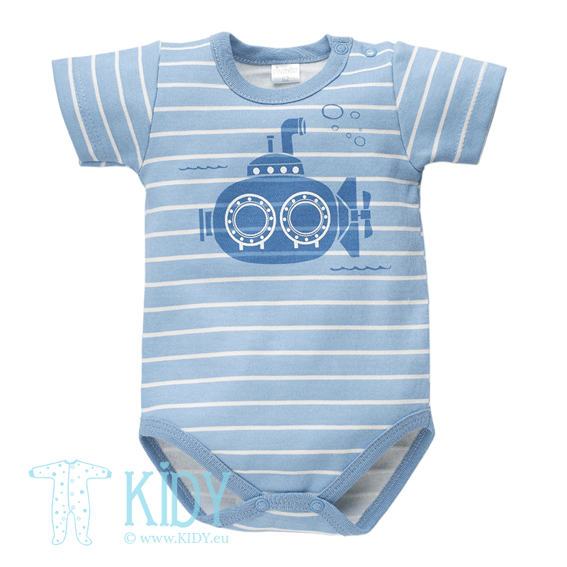Blue SEA WORLD bodysuit