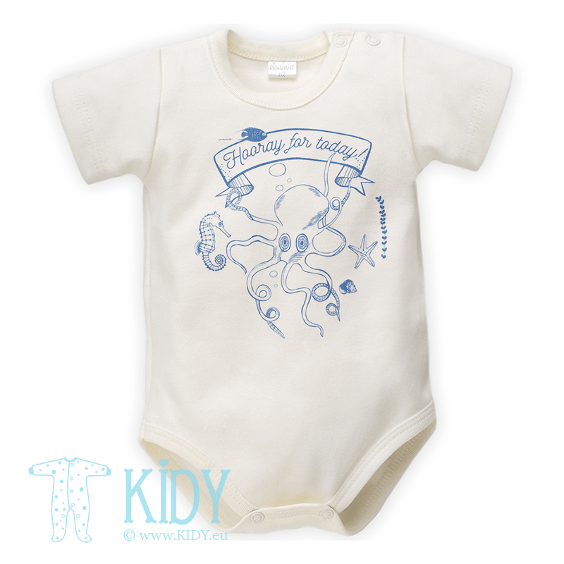 Ecru SEA WORLD bodysuit