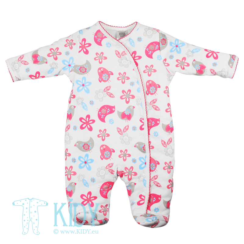 Padded BIRD sleepsuit