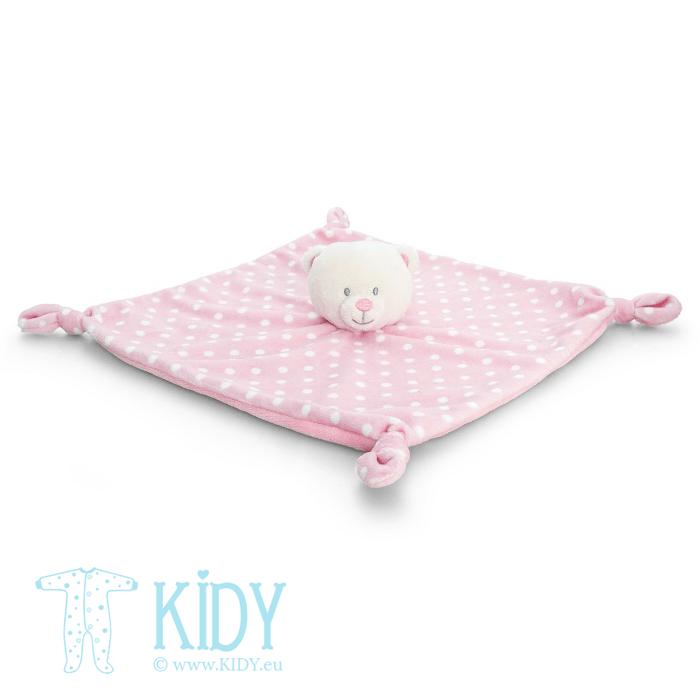 Rožinis miego žaislas BABY BEAR