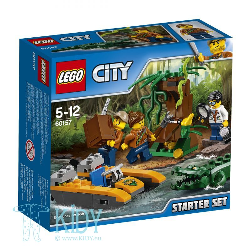 Начальный набор исследователей джунглей LEGO City Jungle Explorers Jungle Starter Set