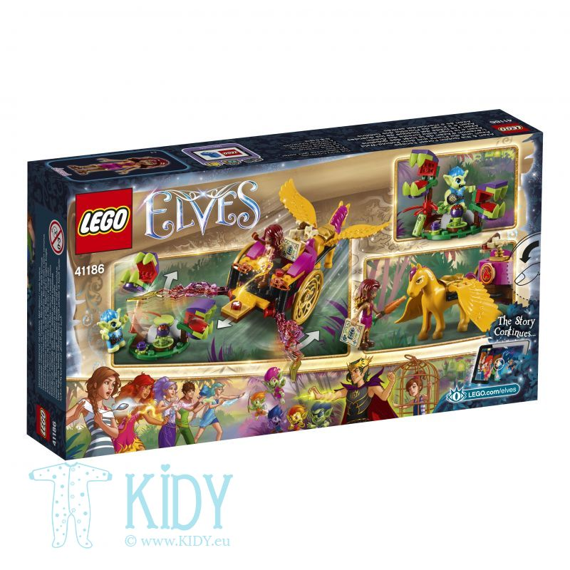 Эльфы LEGO Elves Azari & the Goblin Forest Escape