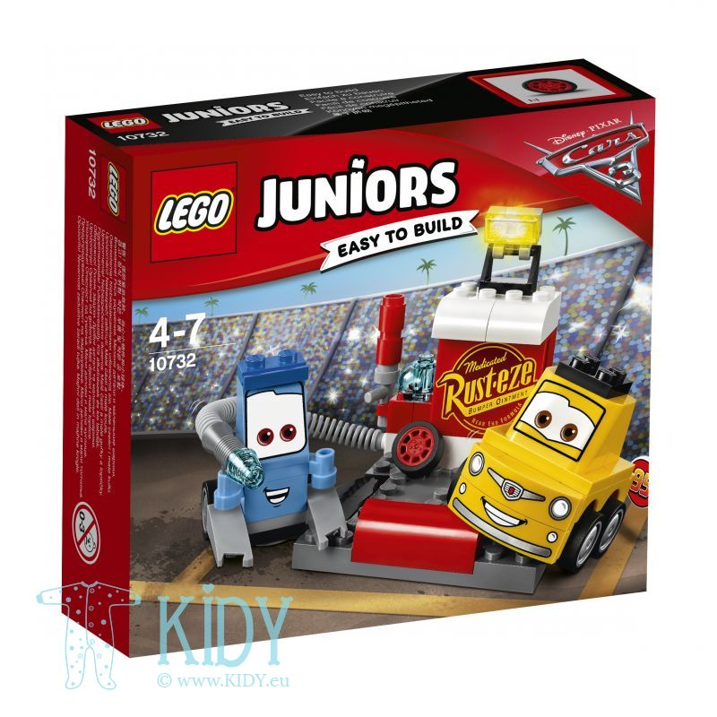Станция обслуживания LEGO Juniors Guido and Luigi's Pit Stop