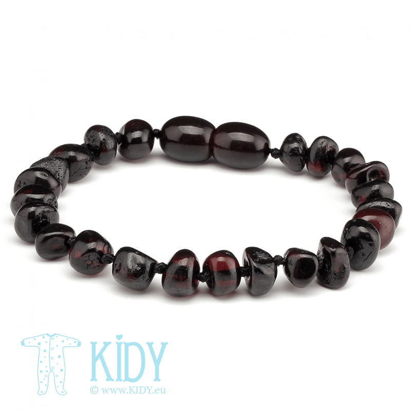 Amber CHERRY teething bracelet