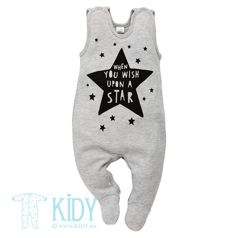 Grey HAPPY DAY dungaree (Pinokio)