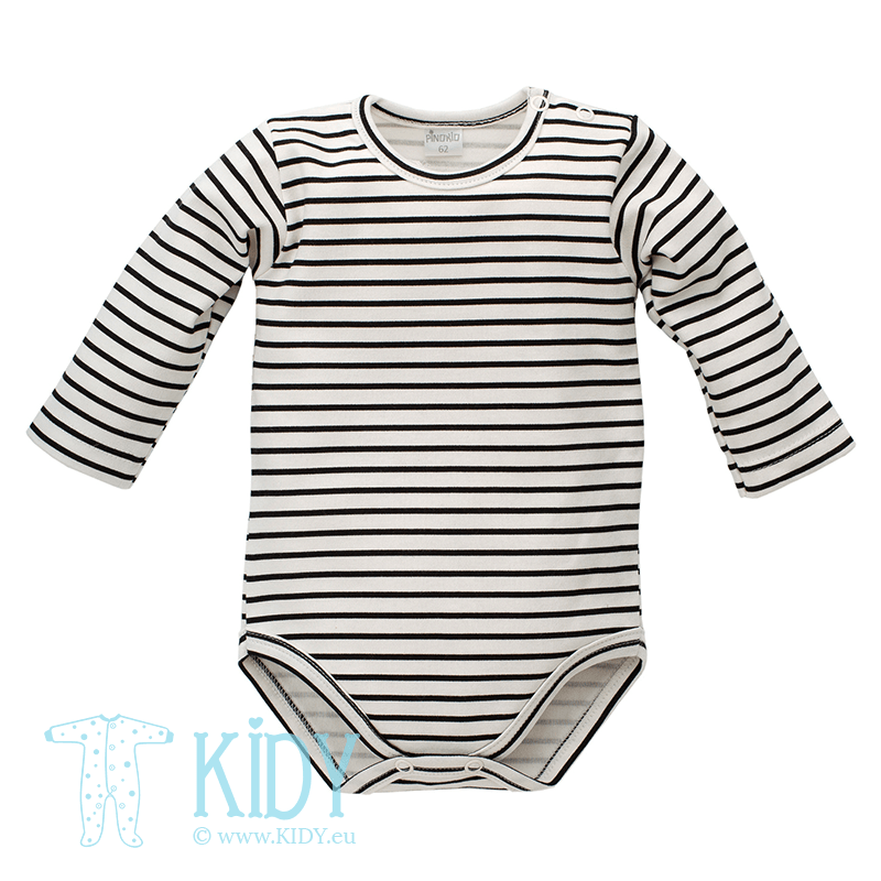 Striped HAPPY DAY bodysuit