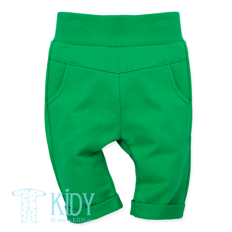 Green LOVE SUMMER pants