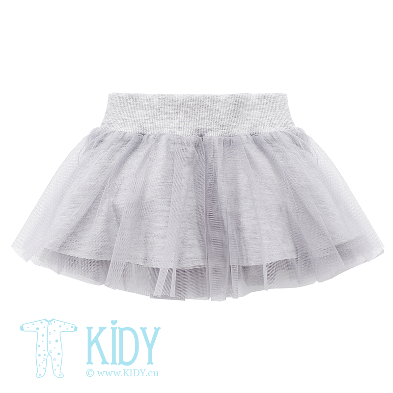 Grey HAPPY DAY skirt