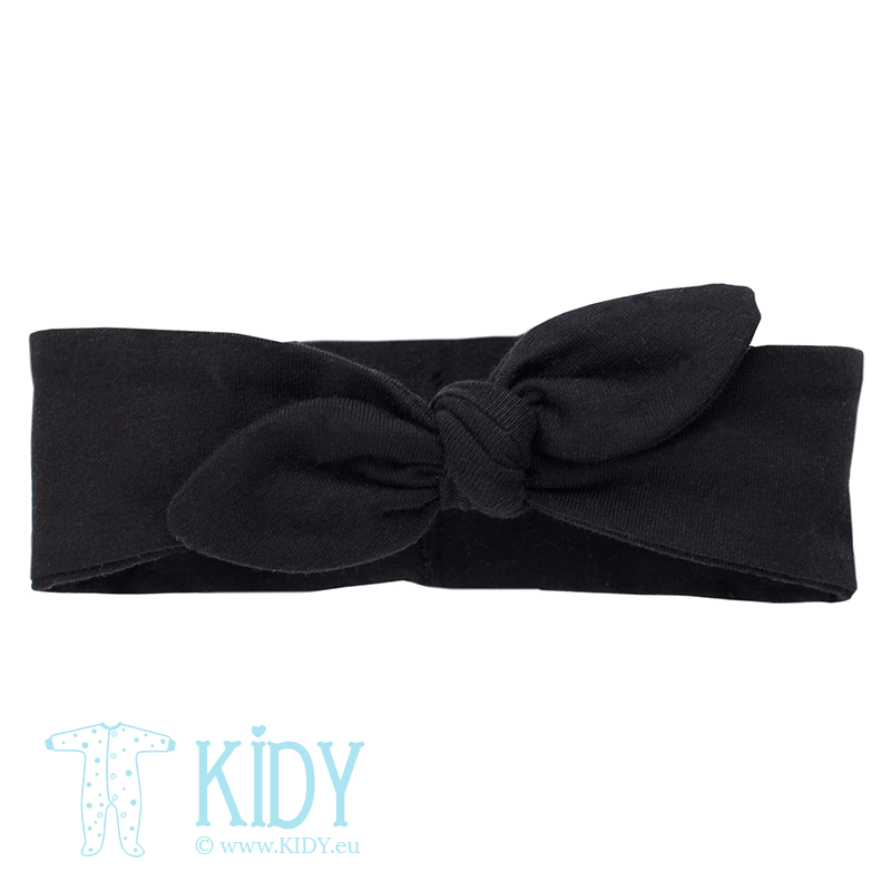 Black HAPPY DAY headband