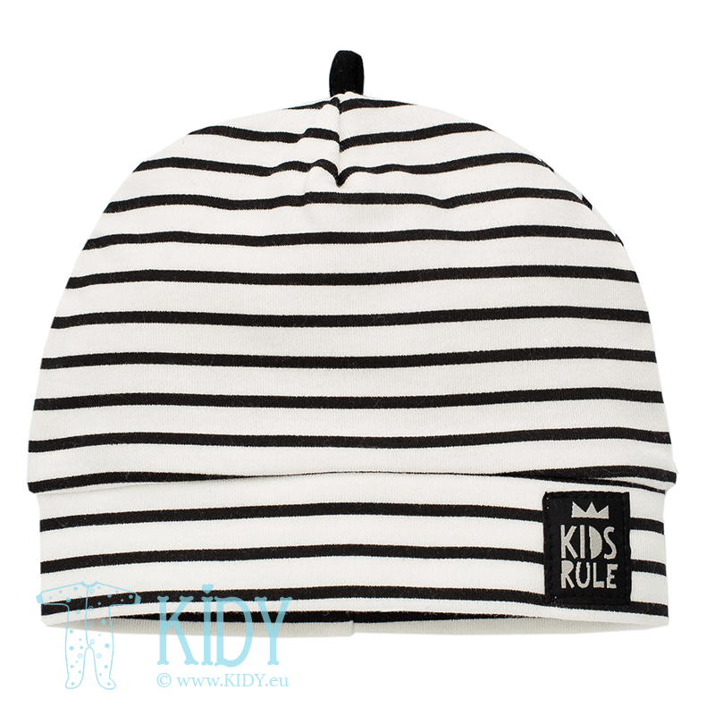 Striped HAPPY DAY hat