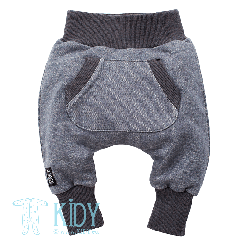 Grey HAPPY DAY pants