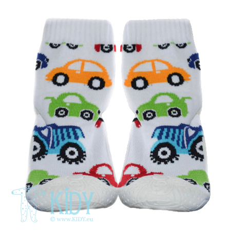 Rubber soled SNEAKERS socks