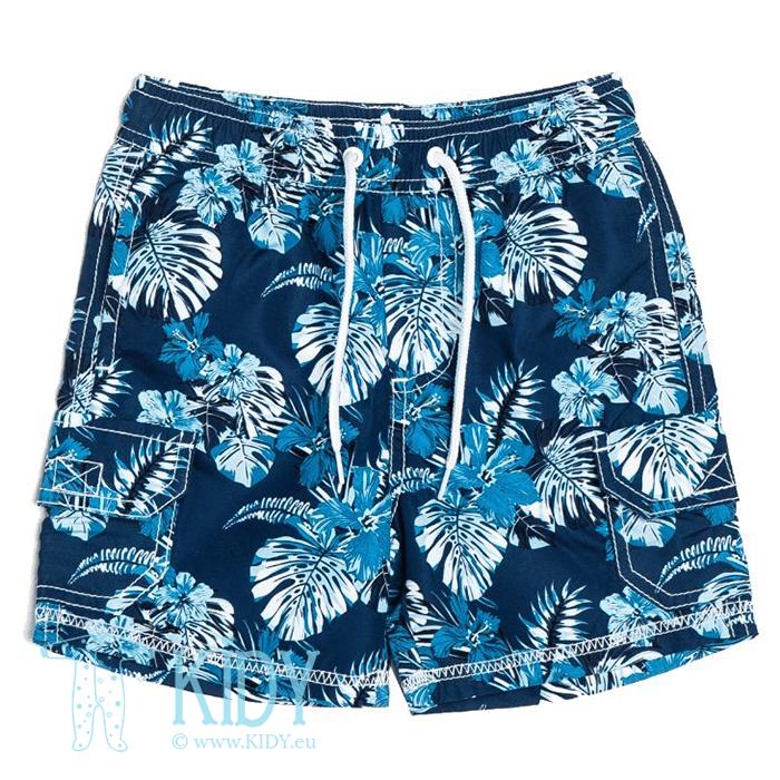 Mėlyni šortai tinka maudytis HIBISCUS (Minoti)
