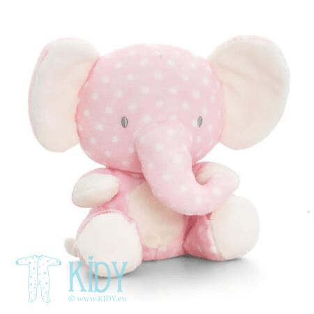 Rožinis pliušinis dramblys SPOTTY