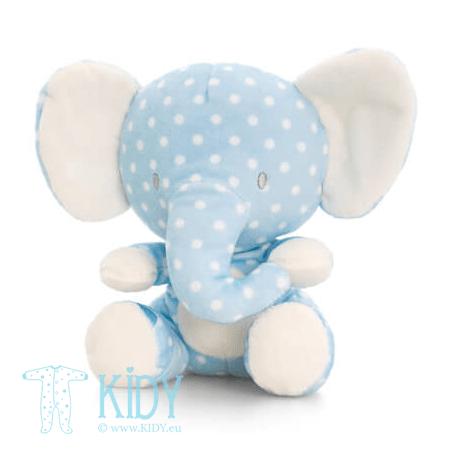 Blue SPOTTY elephant