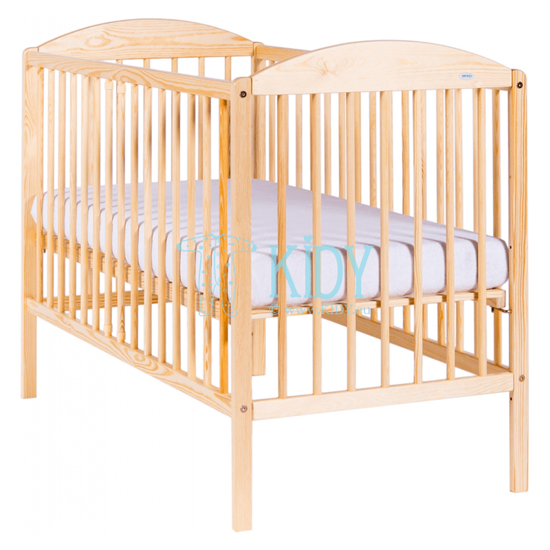 Кроватка KUBA II pine wood