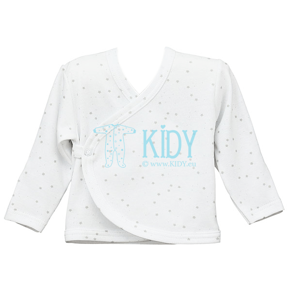 White FLUFFY easy shirt with anti scratches