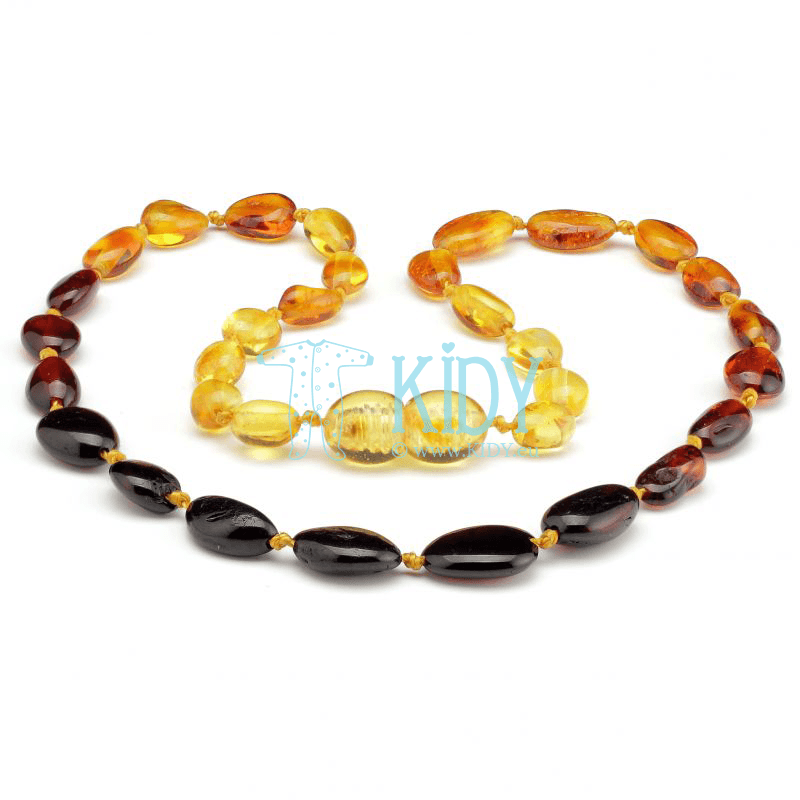 Amber MULTI teething necklace (Baltic Amber)