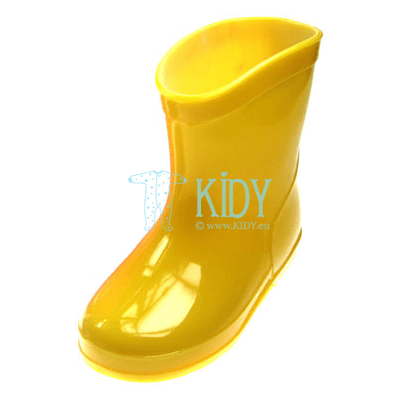 Yellow PLAIN wellingtons