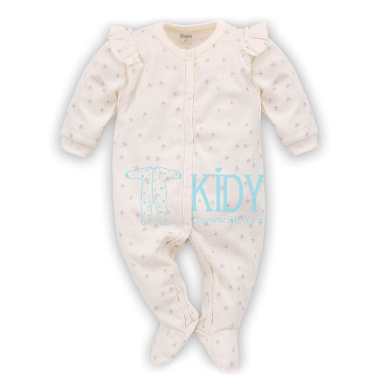 Ecru MAGIC sleepsuit