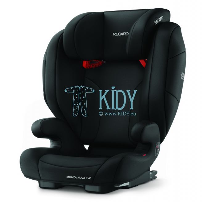 Car seat Monza Nova Evo Seatfix Performance Black