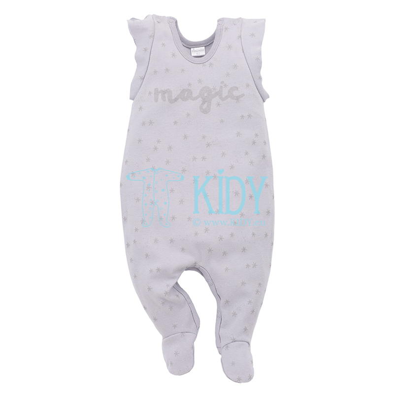 Grey MAGIC dungaree