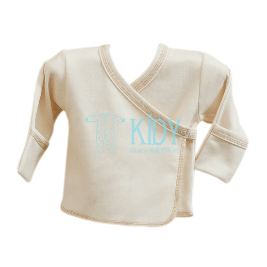 Creamy LULU easy shirt with anti-scratch mitts