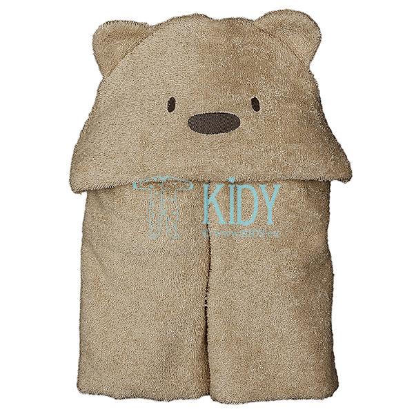 Brown hooded MESKUTIS towel (Lorita)