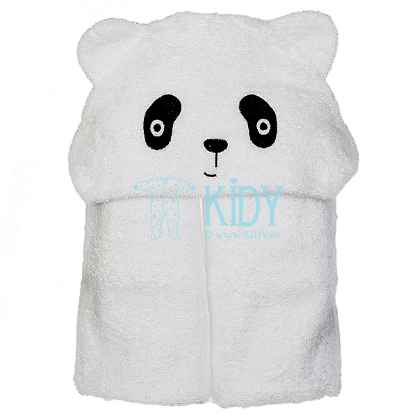 Hooded PANDA towel