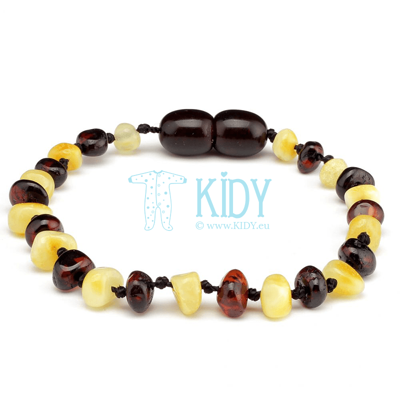 Amber MULTI teething bracelet (Baltic Amber)