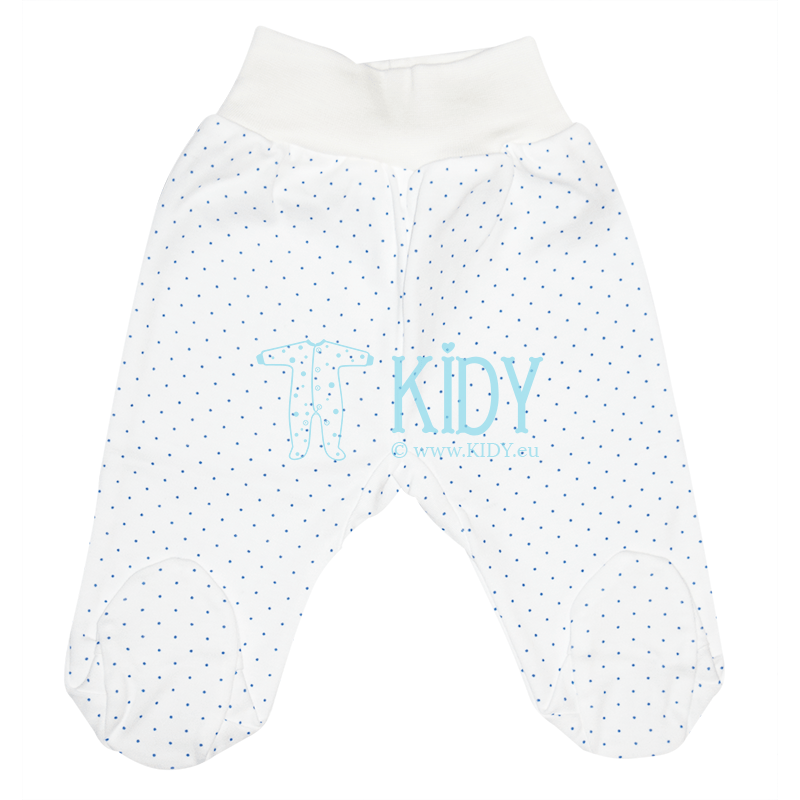 White PIKSY footed pants