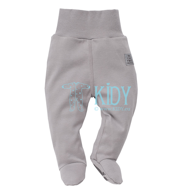 Grey NORTH footed pants