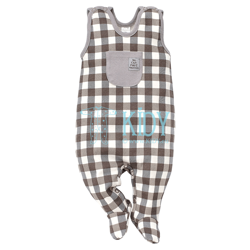 Checked NORTH dungaree (Pinokio)