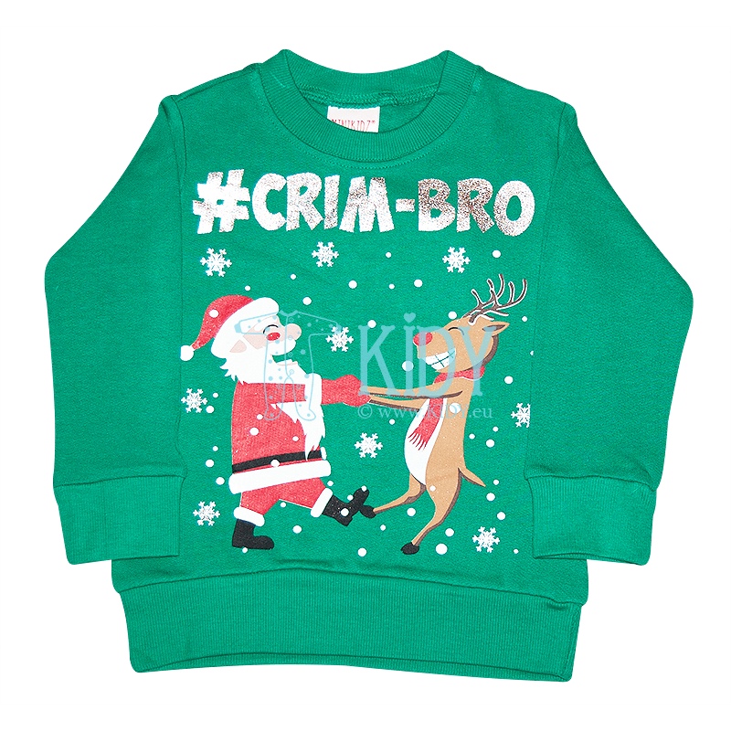 Green CHRISTMAS sweatshirt