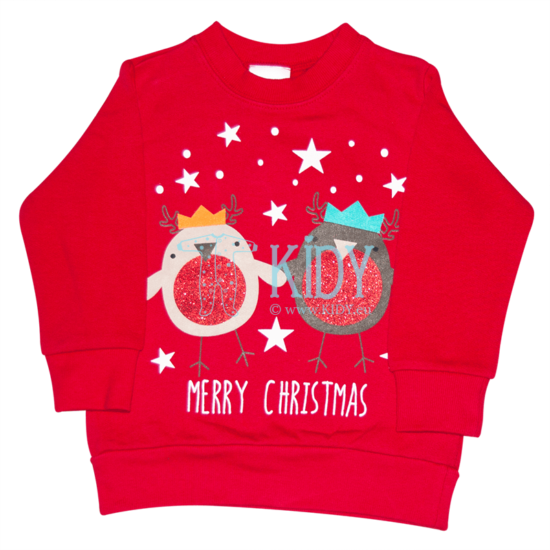 Red CHRISTMAS sweatshirt