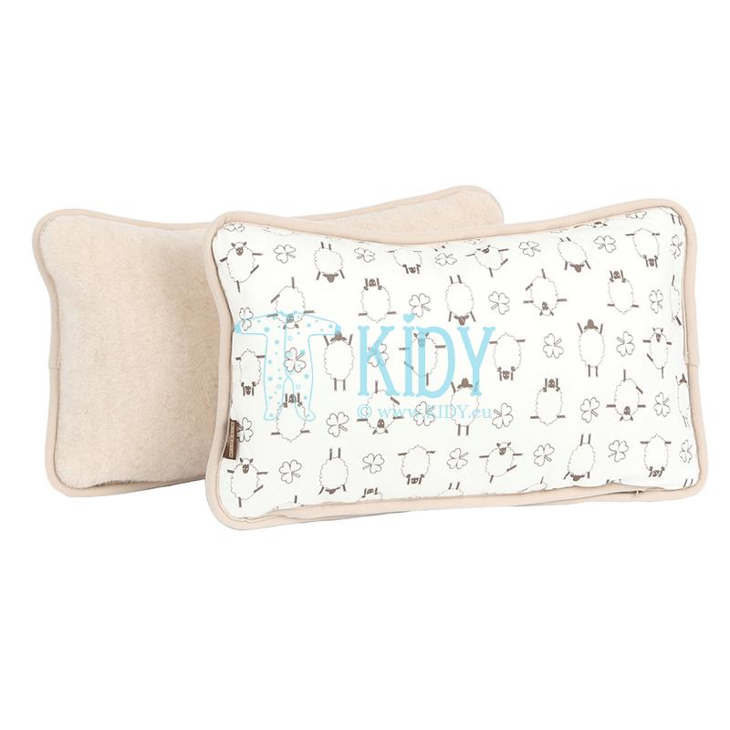Dvipusė pagalvė MOKA (Flokati)