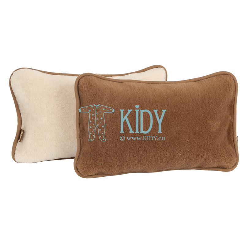 Double-sided woolen CAMEL pillow