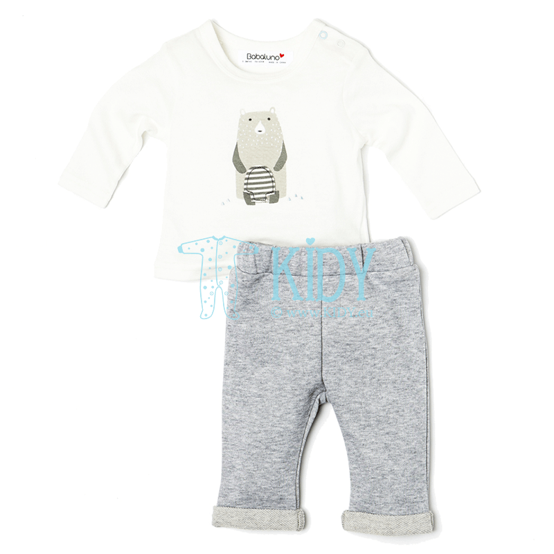 White IGLOO set: top + pants (Babaluno)