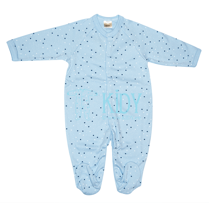 Blue PIMKY sleepsuit