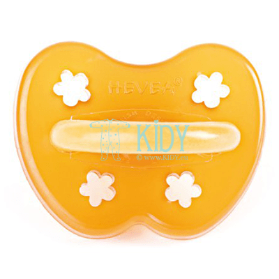 FLOWER natural rubber orthodontic pacifier (Hevea Planet)