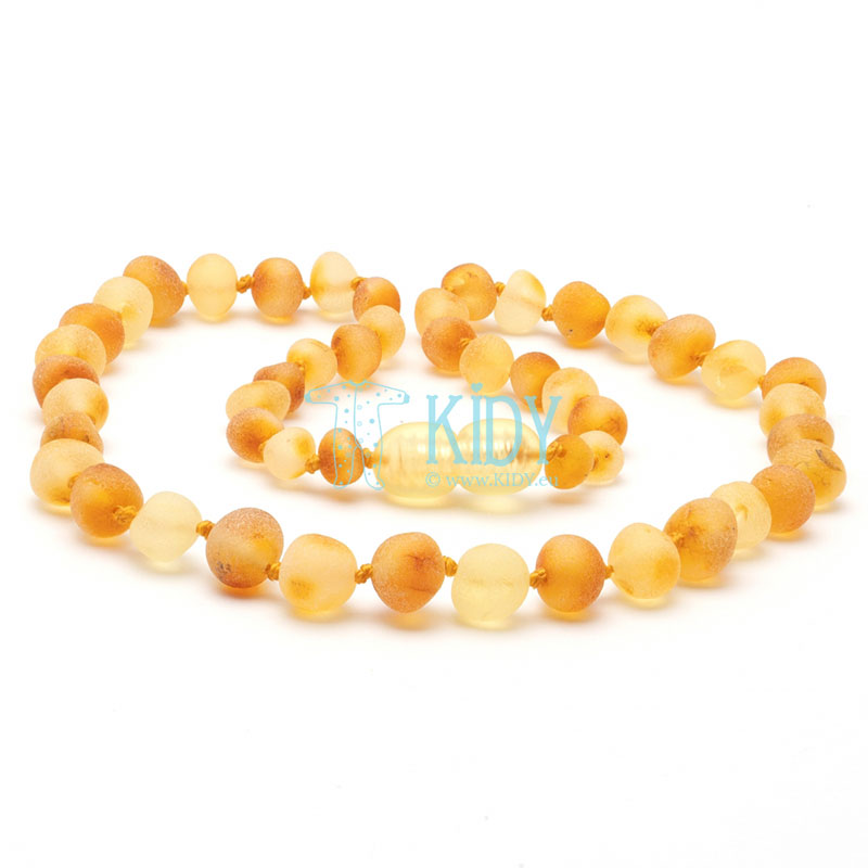 Amber MULTI teething necklace for babies